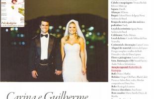 Carina e Guilherme - Revista Noivas