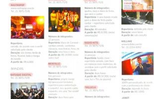 DJs e Bandas - Revista Véu e Grinalda