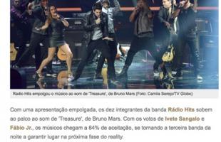 Com música para dançar, Rádio Hits empolga o público e alcança 84%