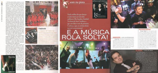 O Globo e 15 Anos – Outubro de 2010