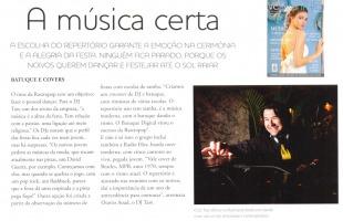 A música certa - Revista Véu e Grinalda