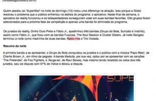 Após polêmica, aplicativo do 'SuperStar' funciona e oito bandas são selecionadas